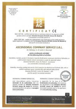 Ascensorul-company-service-Certificare-Directiva-EU-modul-E