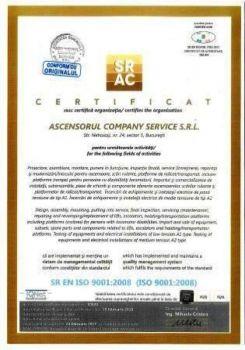 Ascensorul-company-service-ISO-9001
